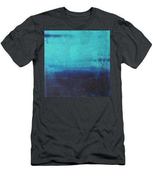 Deep Blue Sea Men's T-Shirt (Slim Fit) by Nicole Nadeau