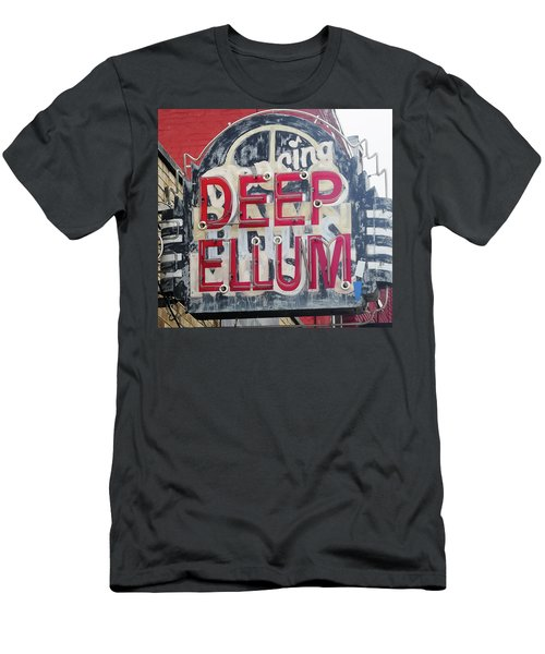 Deep Ellum Dallas Texas Men's T-Shirt (Athletic Fit)
