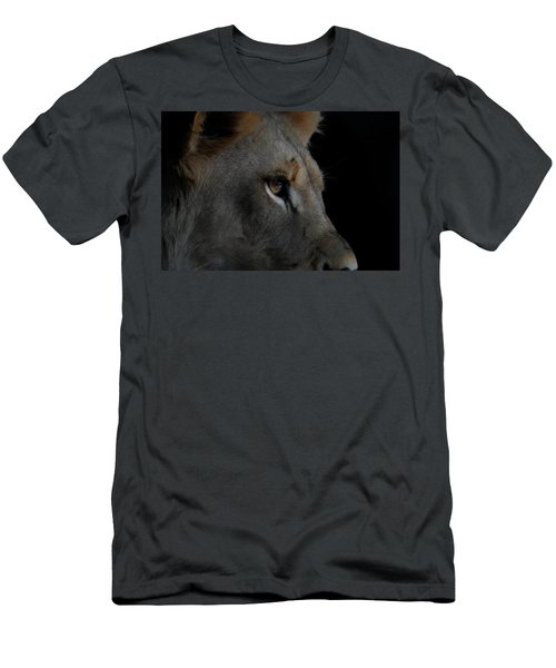 Men's T-Shirt (Slim Fit) featuring the digital art Deep Thought by Ernie Echols