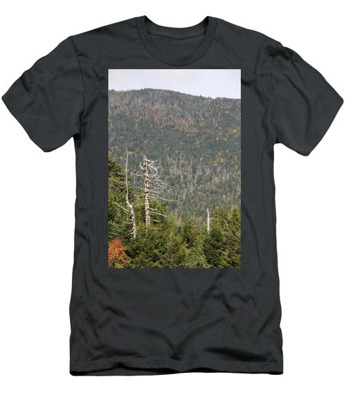 Deeper Into Forest Men's T-Shirt (Athletic Fit)