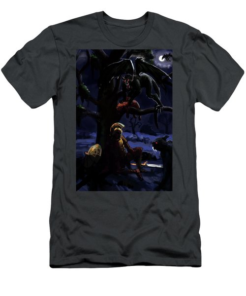 Defeated Hero Men's T-Shirt (Athletic Fit)