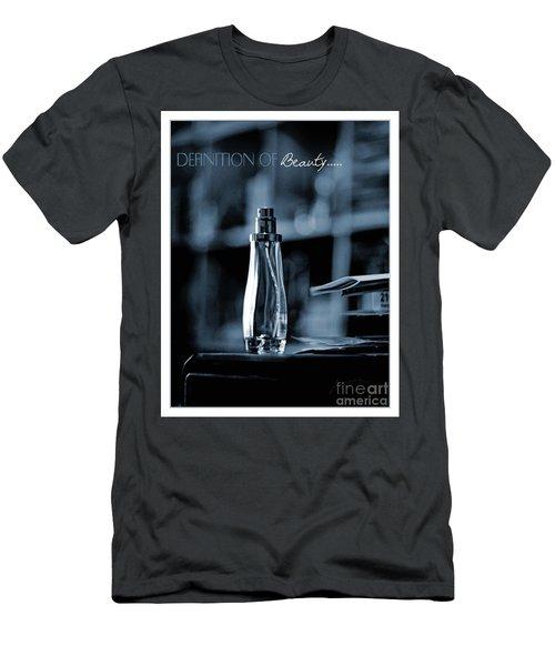 Definition Of Beauty Blue Men's T-Shirt (Athletic Fit)
