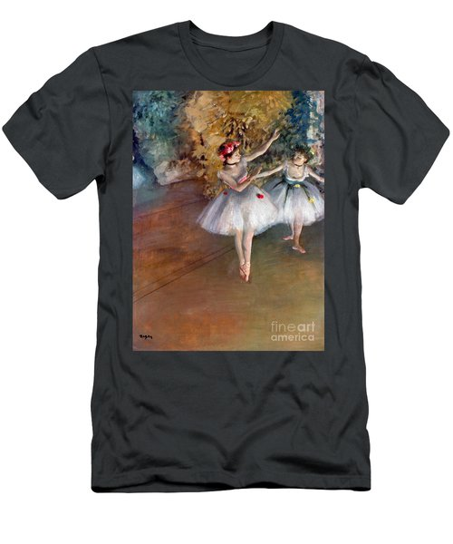 Degas: Dancers, C1877 Men's T-Shirt (Athletic Fit)
