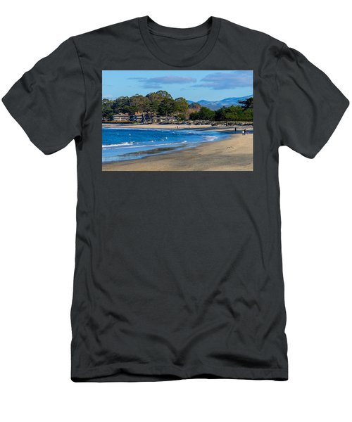 Del Monte Beach Men's T-Shirt (Athletic Fit)