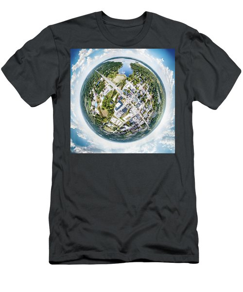 Men's T-Shirt (Athletic Fit) featuring the photograph Delafield by Randy Scherkenbach