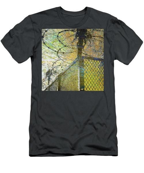 Men's T-Shirt (Slim Fit) featuring the mixed media Deliverance by Tony Rubino