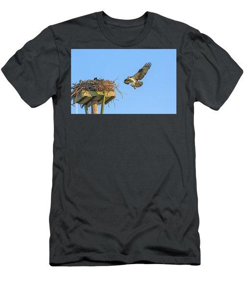 Delivering Breakfast Men's T-Shirt (Athletic Fit)