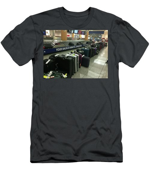 Men's T-Shirt (Slim Fit) featuring the photograph Delta Irony by David Bearden