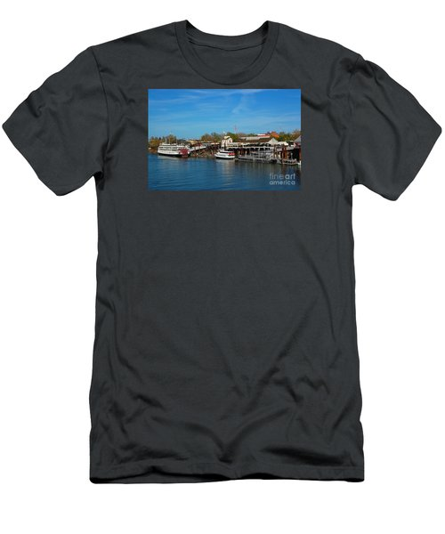 Men's T-Shirt (Slim Fit) featuring the photograph Delta King by Debra Thompson