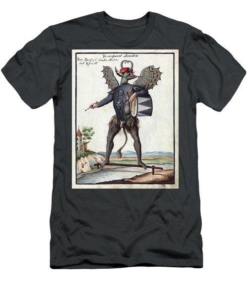 Demon, 1057 Men's T-Shirt (Athletic Fit)