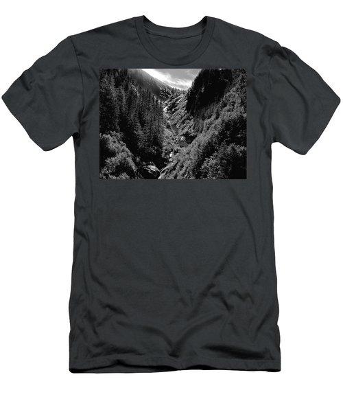 Denali National Park 3 Men's T-Shirt (Athletic Fit)