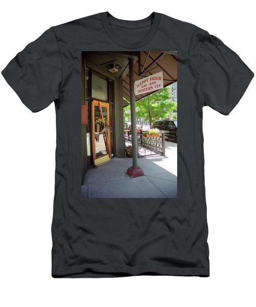 Denver Happy Hour Men's T-Shirt (Slim Fit) by Frank Romeo