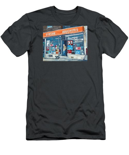 Depanneur Richard Men's T-Shirt (Athletic Fit)