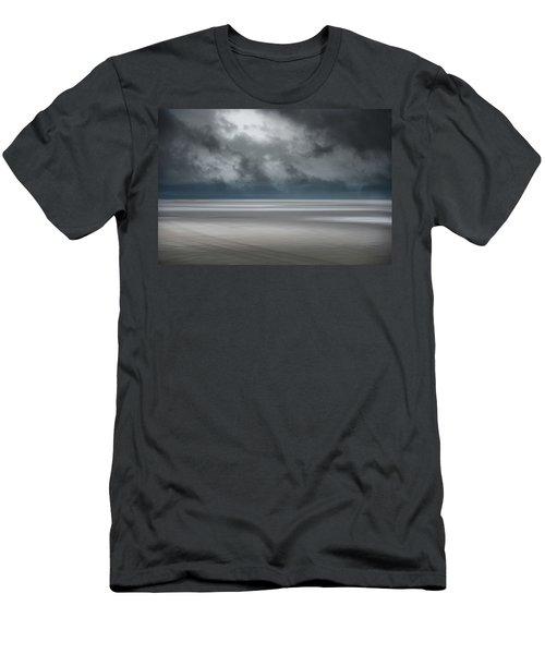 Departing Storm Men's T-Shirt (Athletic Fit)