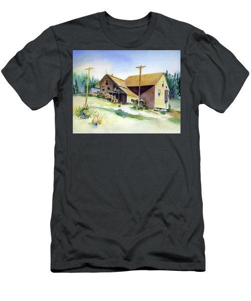 Depot Hill, Dutch Flat,1910 Men's T-Shirt (Athletic Fit)