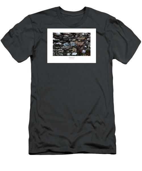 Men's T-Shirt (Athletic Fit) featuring the digital art Derelict by Julian Perry
