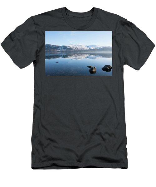 Derwentwater Rocks Men's T-Shirt (Athletic Fit)