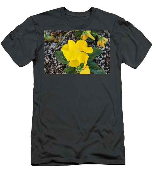 Floral Desert Beauty Men's T-Shirt (Athletic Fit)