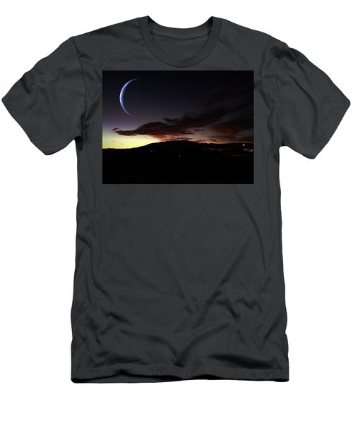 Desert Crescent Men's T-Shirt (Athletic Fit)