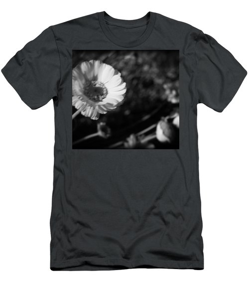 Desert Flower In Holga Mood Men's T-Shirt (Athletic Fit)