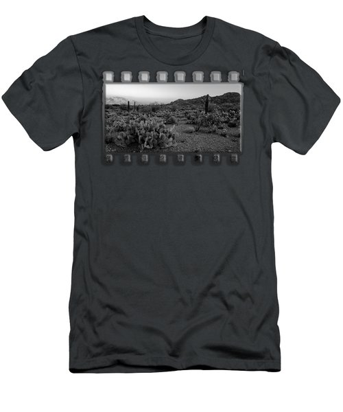 Desert Foothills H30 Men's T-Shirt (Slim Fit) by Mark Myhaver