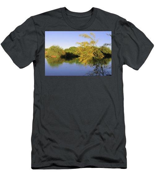 Desert Oasis Men's T-Shirt (Athletic Fit)