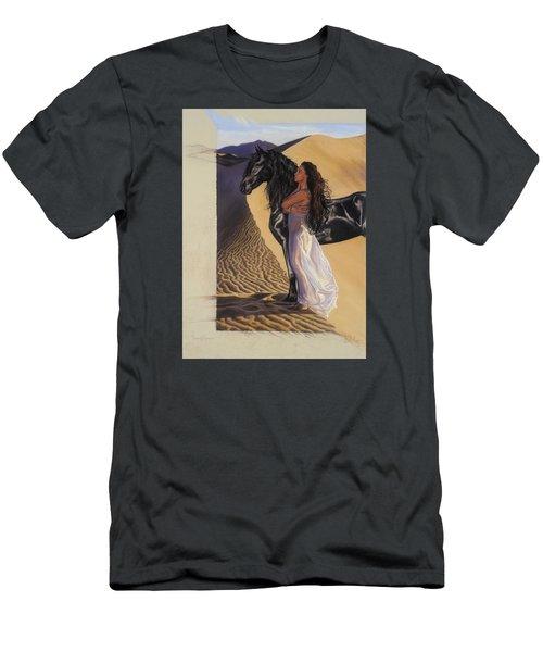 Desert Of Inspiration Men's T-Shirt (Athletic Fit)