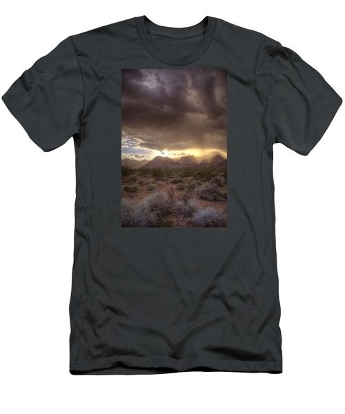 Desert Rain Men's T-Shirt (Athletic Fit)