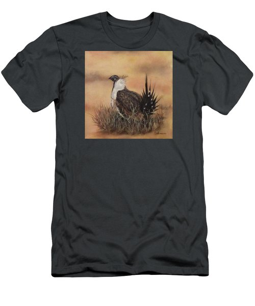 Desert Sage Grouse Men's T-Shirt (Athletic Fit)