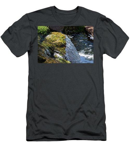 Desert Waterfall Men's T-Shirt (Athletic Fit)
