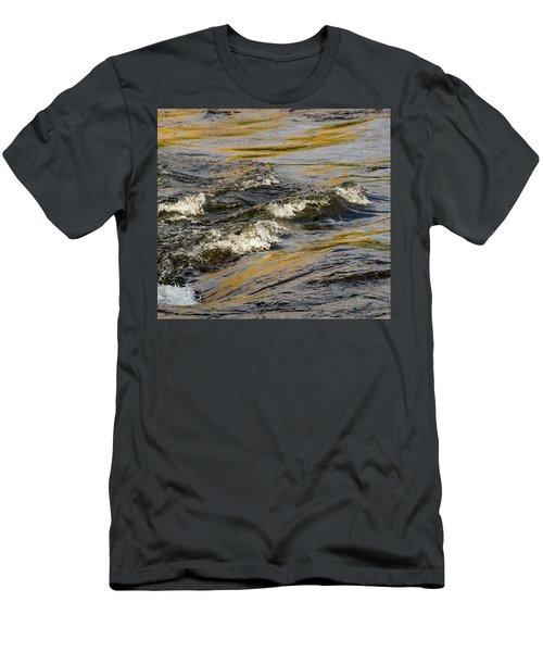 Desert Waves Men's T-Shirt (Athletic Fit)