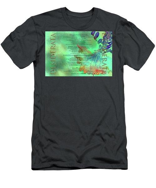 Desiderata #2 Men's T-Shirt (Athletic Fit)