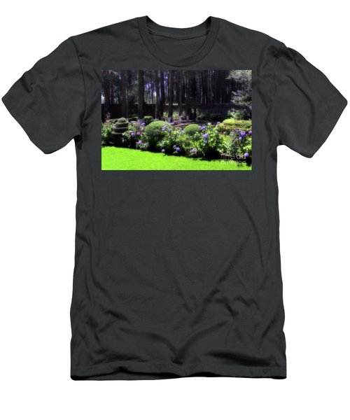 Desierto De Los Leones 1 Men's T-Shirt (Slim Fit) by Ana Mireles