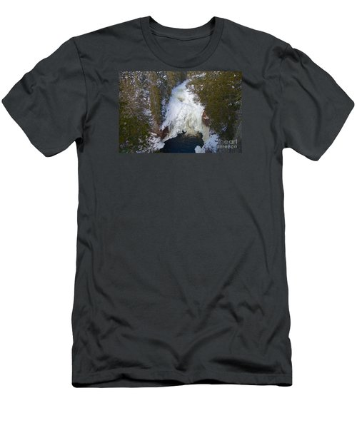 Devil's Kettle Men's T-Shirt (Slim Fit) by Sandra Updyke