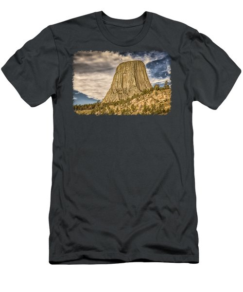 Devils Tower Inspiration 3 Men's T-Shirt (Athletic Fit)