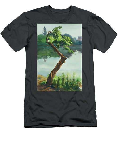 Dhanmondi Lake 03 Men's T-Shirt (Athletic Fit)