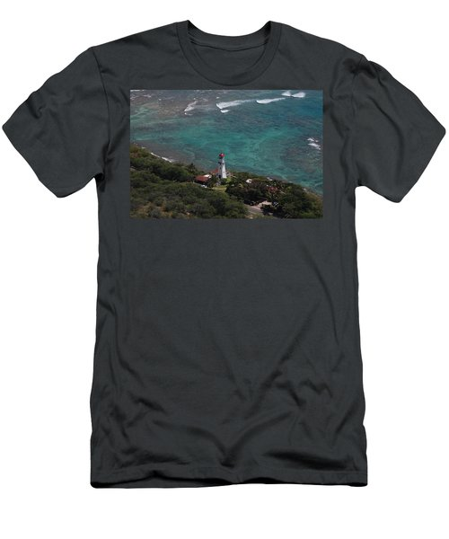 Diamond Head Lighthouse I Men's T-Shirt (Athletic Fit)