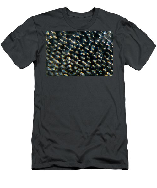 Men's T-Shirt (Athletic Fit) featuring the photograph Diamond Lights by Greg Collins
