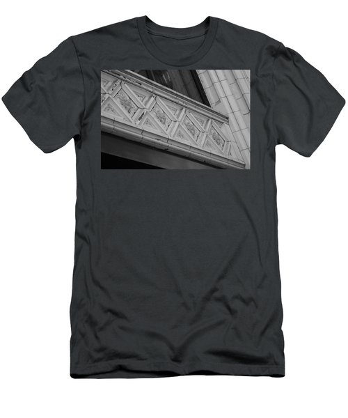 Diamond Patterns In Black And White Men's T-Shirt (Athletic Fit)