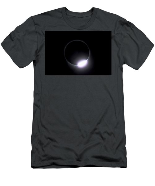 Diamond Ring During Solar Eclipse Men's T-Shirt (Athletic Fit)