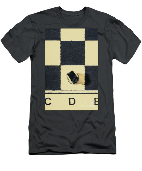 Dimensional Chess Men's T-Shirt (Athletic Fit)