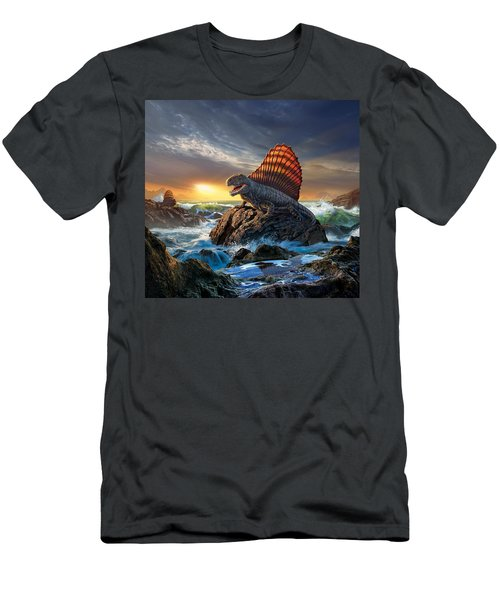 Dimetrodon Men's T-Shirt (Athletic Fit)