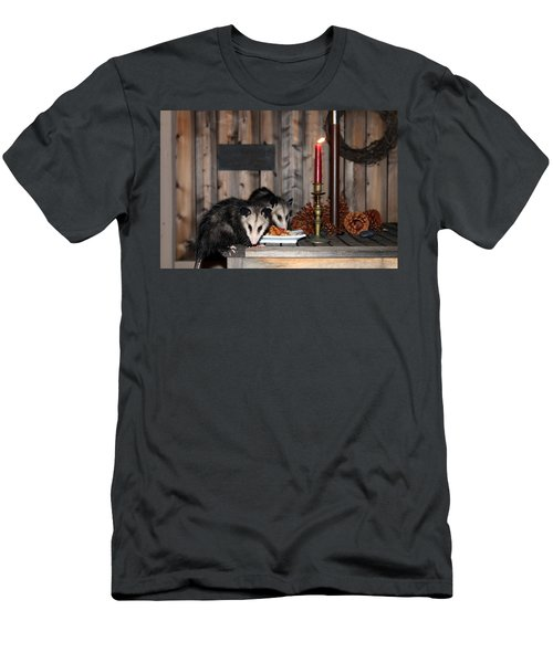 Dining Possums I Men's T-Shirt (Athletic Fit)