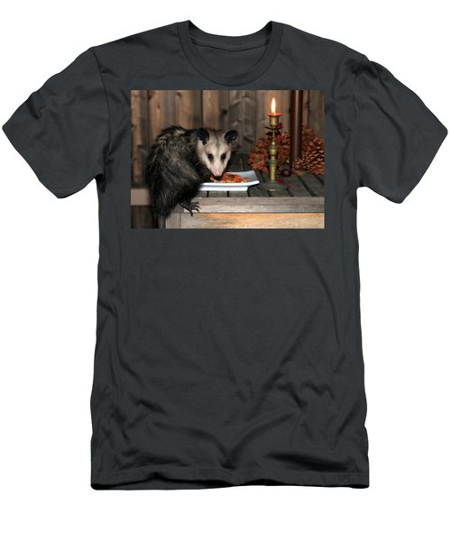 Dining Possums Iv Men's T-Shirt (Athletic Fit)