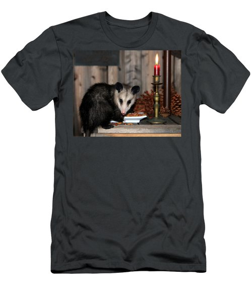 Dining Possums V Men's T-Shirt (Athletic Fit)