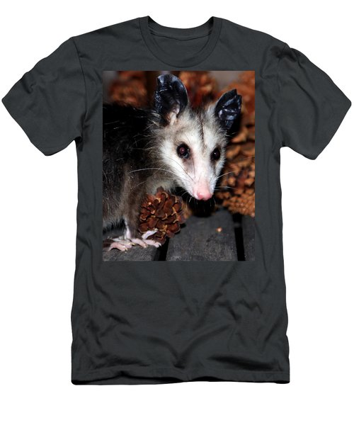 Dining Possums Vi Men's T-Shirt (Athletic Fit)