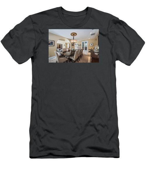 Dining Room Men's T-Shirt (Athletic Fit)