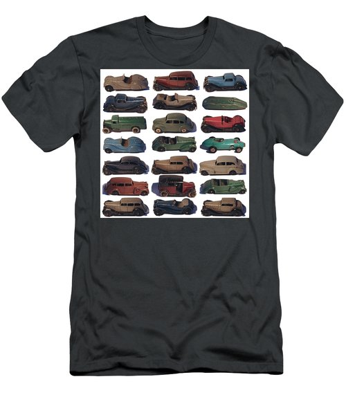 Dinky Car Park Men's T-Shirt (Slim Fit) by John Colley