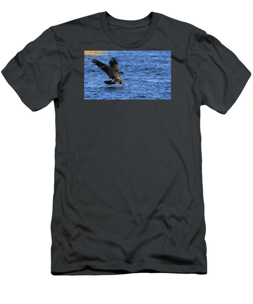 Men's T-Shirt (Slim Fit) featuring the photograph Dinner Run by Coby Cooper