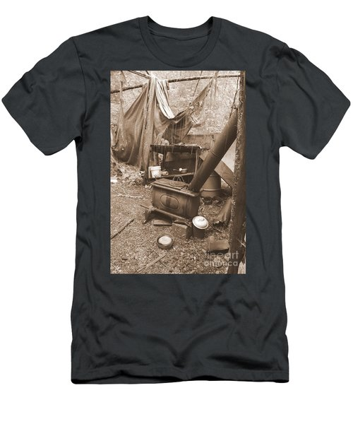Men's T-Shirt (Athletic Fit) featuring the photograph Dinner Will Have To Wait by Marie Neder